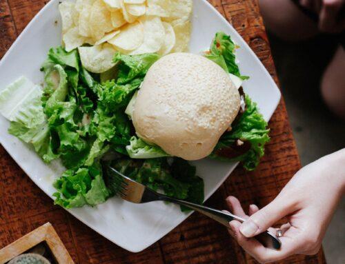 Creamy miso brussels sprout fettucine